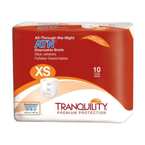 Tranquility All Through the Night Briefs (X-Small)