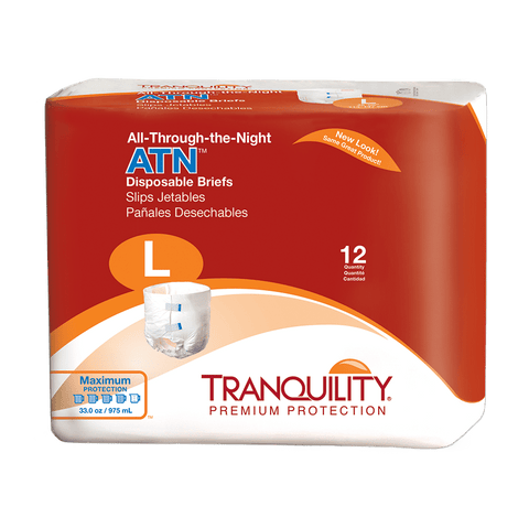 Tranquility All Through the Night Briefs (Large)