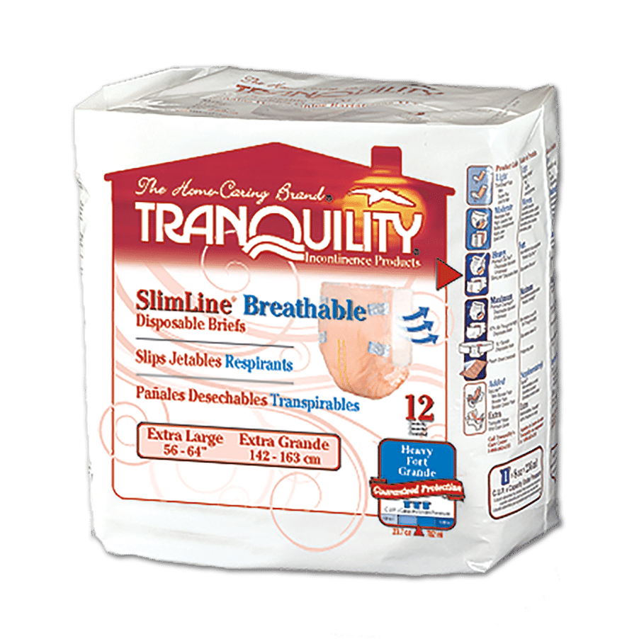 Tranquility SlimLine Breathable Briefs (X-Large)