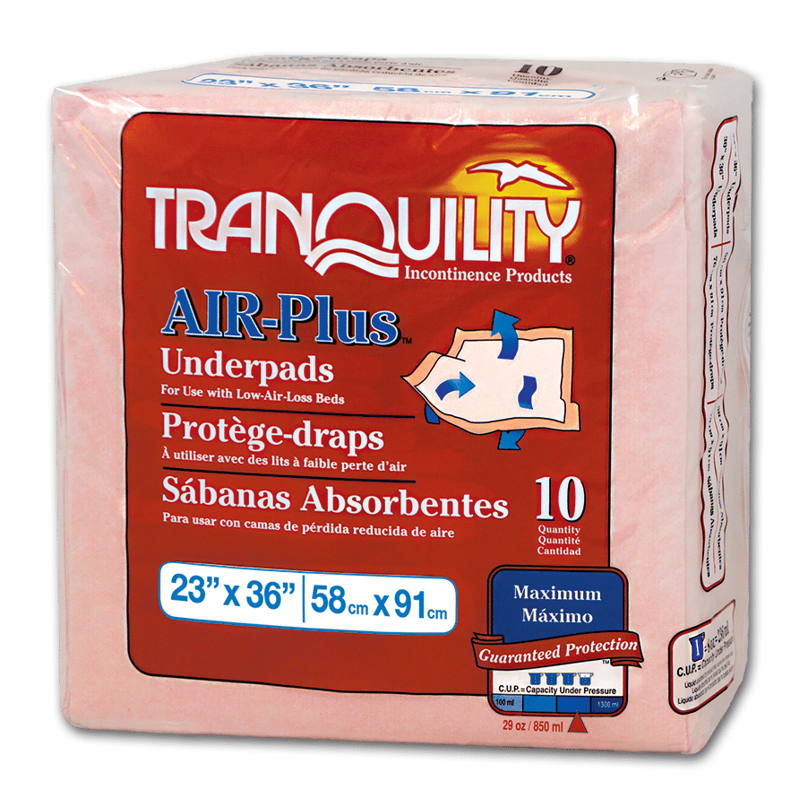 "Tranquility AIR-Plus Breathable Underpad  23"" X 36"""