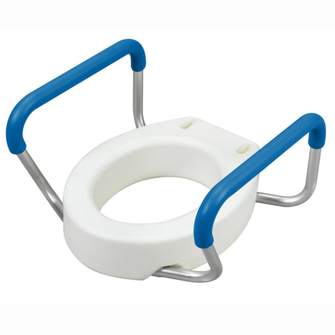 "4"" Toilet Seat Riser With Removable Arms"