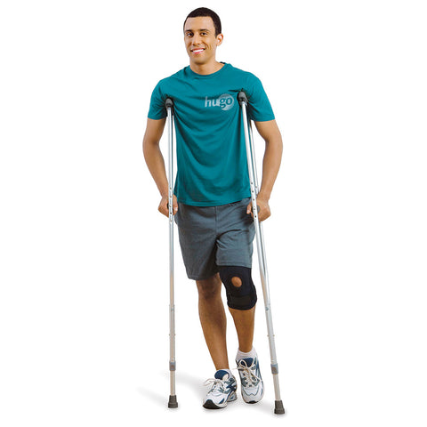 Lightweight Adjustable Aluminum Crutches, Adult