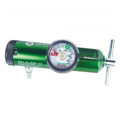 Oxygen Regulator, Yoke Style 0-15 LPM