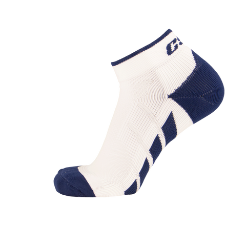 CSX X110 High Cut Ankle Sock PRO Navy on White