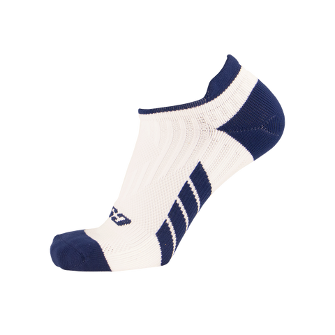 CSX X100 Low Cut Ankle Socks PRO Navy on White