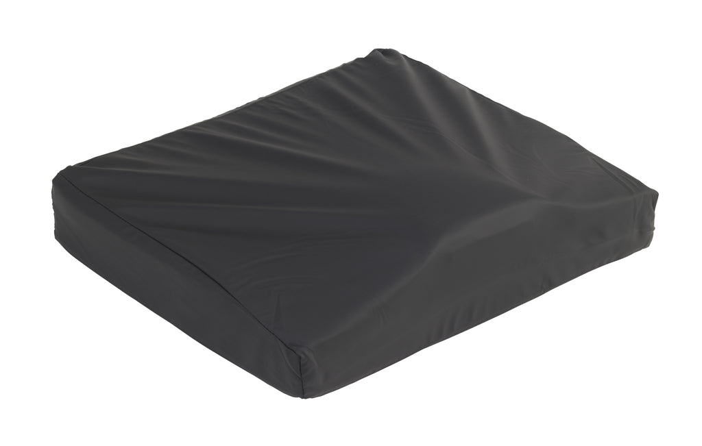 "Titanium Gel/Foam Wheelchair Cushion, 20"" x 18"""