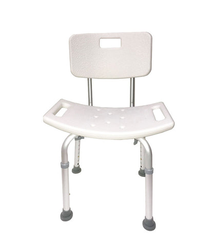 Bath Chair with Back Rest by Mobb Home Health Care