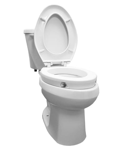 "2"" Elongated Raised Toilet Seat"