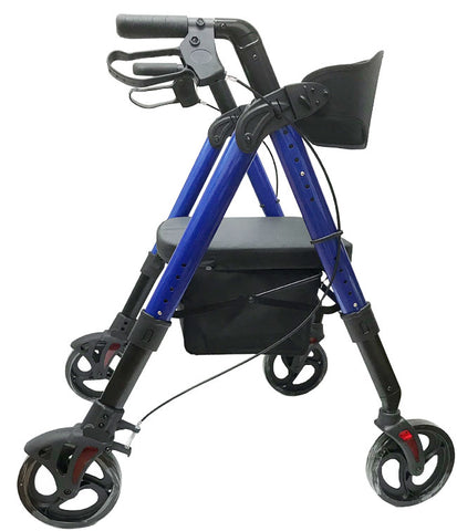 Heavy Duty Aluminum Folding Bariatric Rollator by Mobb