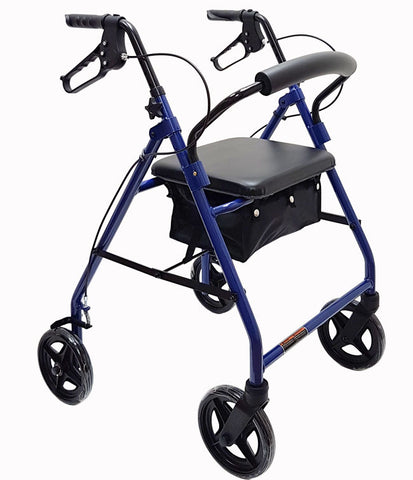 "Aluminum Rollator w/8"" Wheels by Mobb Home Health Care"