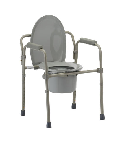 Folding Commode Chair by Mobb Home Health Care