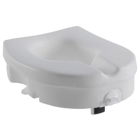 "5"" Molded Raised Toilet Seat with Tightening Lock"