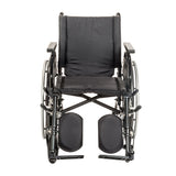 "Viper Plus GT Wheelchair with Universal Armrests, Elevating Legrests, 22"" Seat"