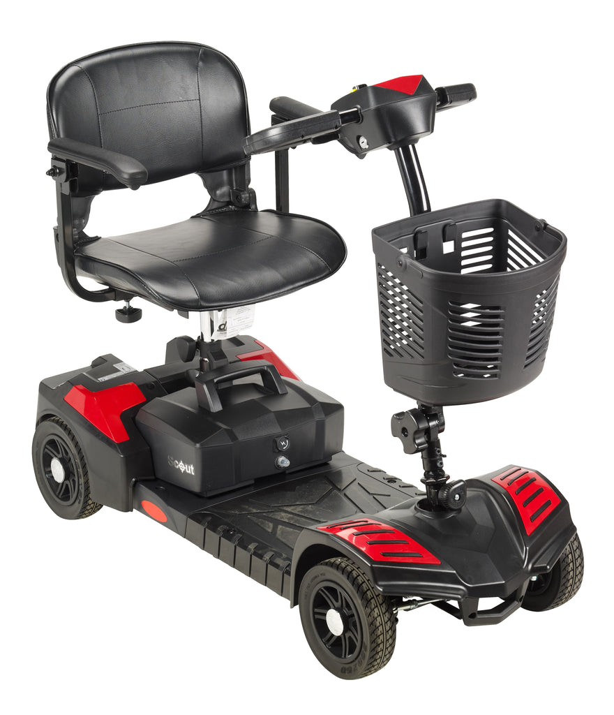Scout Compact Travel Power Scooter, 4 Wheel