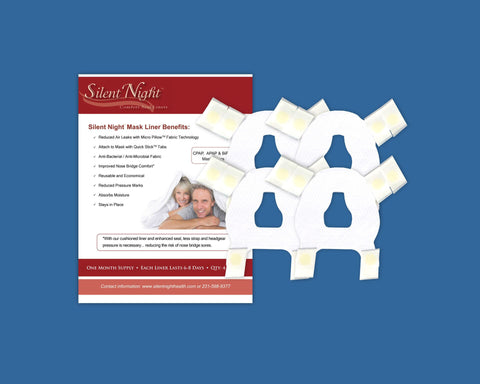 Nasal Silent Night™ Comfort Seal Liners