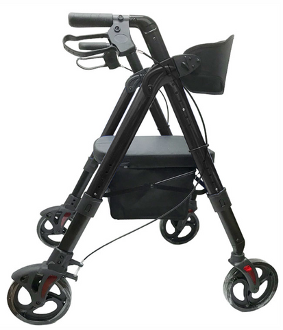 Heavy Duty Bariatric Aluminum Folding Rollator