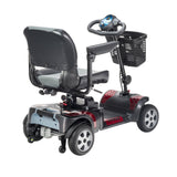 "Phoenix Heavy Duty Power Scooter, 4 Wheel, 18"" Seat"