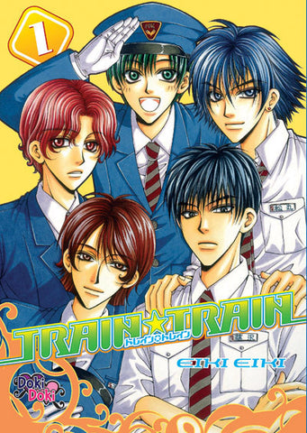Train Train Vol. 1 - June Manga