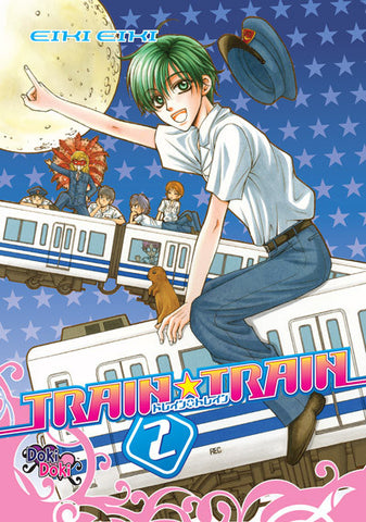 Train Train Vol. 2 - June Manga