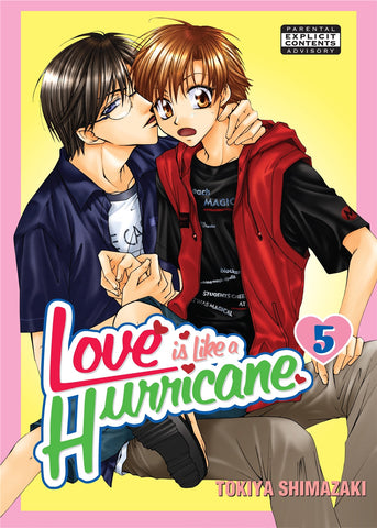 Love is Like a Hurricane Vol. 5 - June Manga