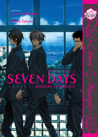 Seven Days: Monday-Thursday - June Manga