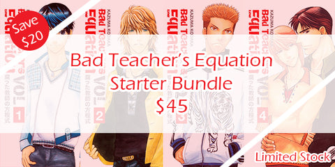 Bad Teacher's Equation Starter Bundle - June Manga