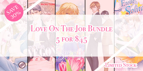 Love On The Job Bundle - June Manga