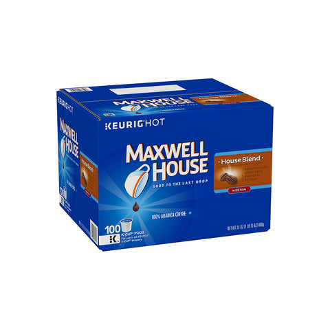 Maxwell House House Blend Coffee 100 ct