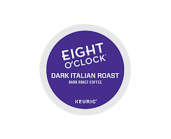Eight O'Clock Dark Italian Roast Coffee K Cups 96ct