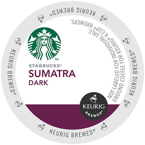 Starbucks 96-count Sumatra Coffee K Cups