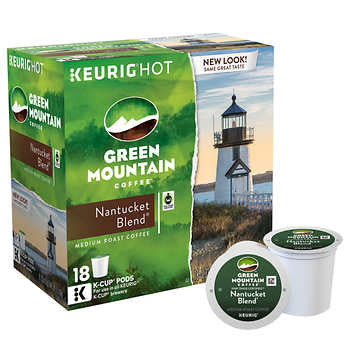 Green Mountain Nantucket Blend Coffee K Cups 180ct