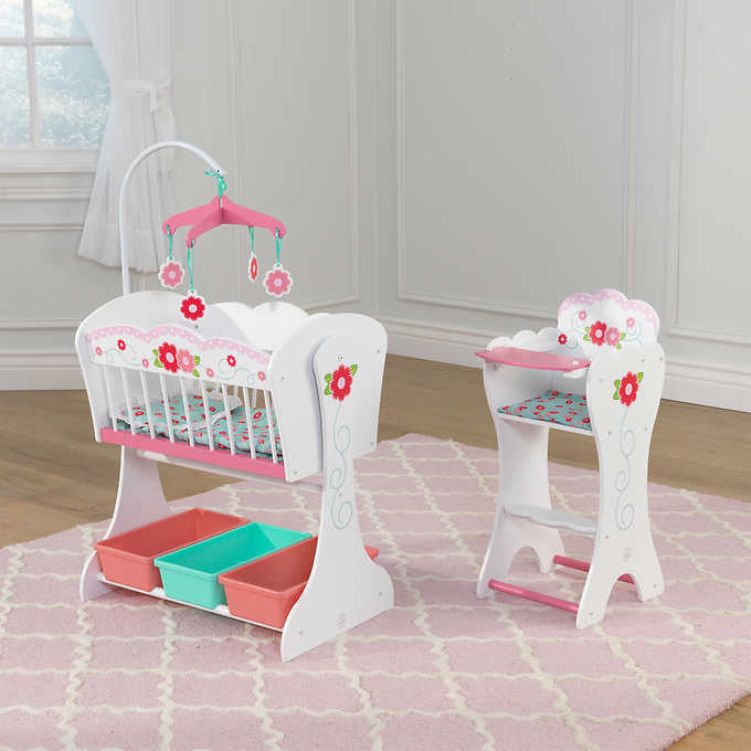 KidKraft Sweet Roses Doll Furniture Set