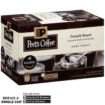 Peet's French Roast Coffee K Cups 120ct
