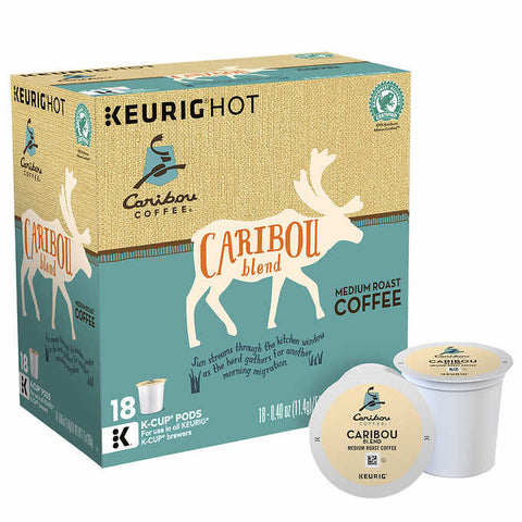 Caribou Blend Coffee K Cups 180ct