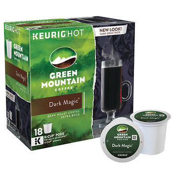 Green Mountain Dark Magic Extra Bold Coffee K Cups 180ct