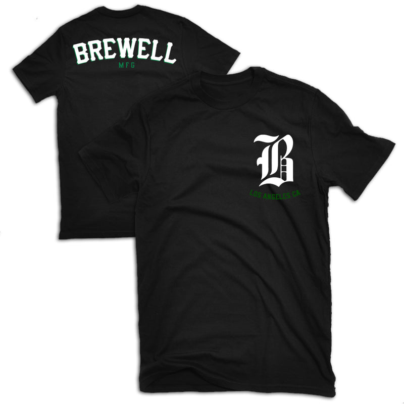 Brewell Promo Pirate Tee Black