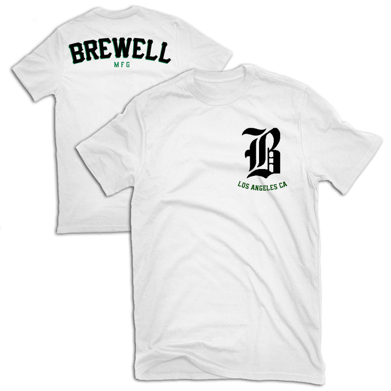 Brewell Promo Pirate Tee White