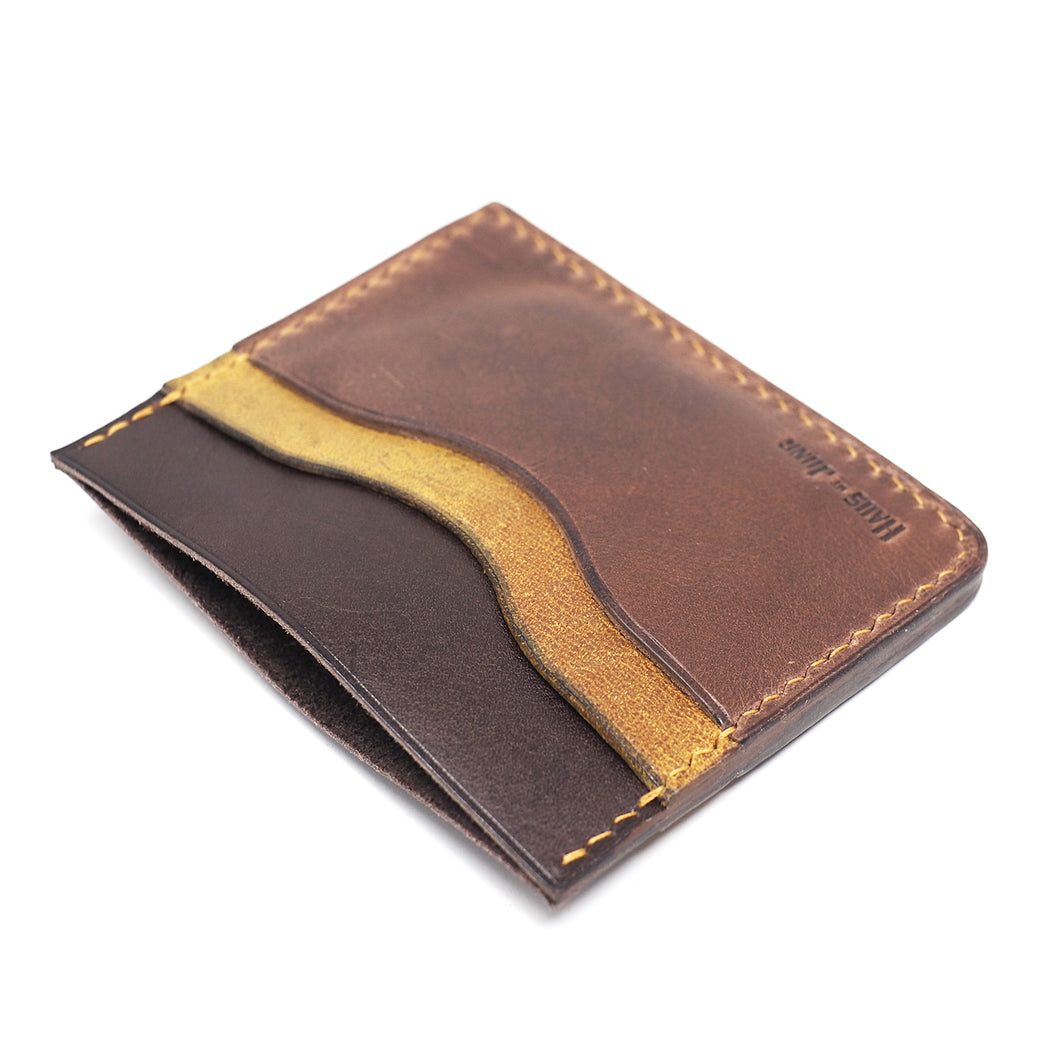 CASH/CARD | Hand-Stitched Minimal Wallet