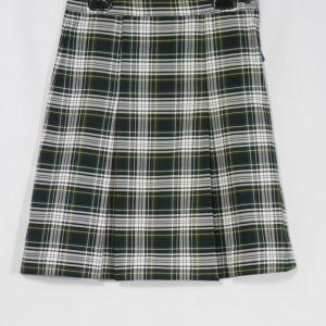 Pinewood 2- Kick Pleat Plaid Skirt - Appletree Uniforms