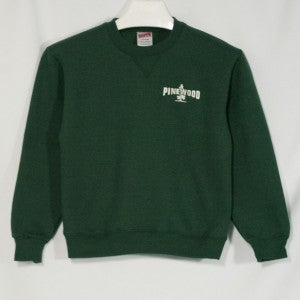 PINEWOOD HEAVYWEIGHT CREW SWEATSHIRT WITH EMBROIDERED LOGO