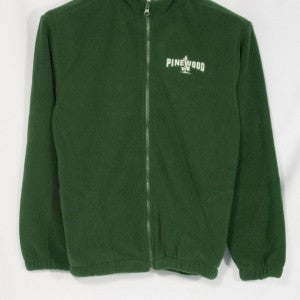 PINEWOOD FULL ZIP FABRI-TEC FLEECE WITH EMBROIDERED LOGO
