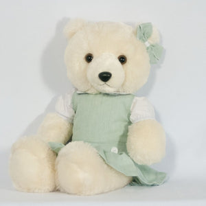 PINEWOOD 18? DOLL DROP WAIST JUMPER WITH BOW (BEAR NOT INCLUDED)