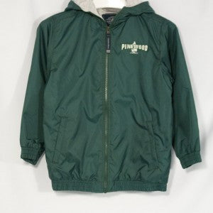 PINEWOOD PERFORMER NYLON JACKET WITH EMBROIDERED LOGO - Appletree Uniforms