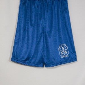 ST. SIMON MINI MESH SHORT WITH SILKSCREENED LOGO