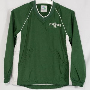 PINEWOOD WINDSHIRT PULLOVER WITH EMBROIDERED LOGO