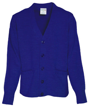 V neck Cardigan with Pockets - New Logo - Appletree Uniforms