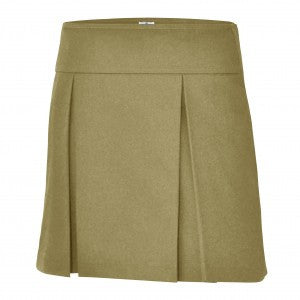 KHAKI HIPSTER SKORT - Appletree Uniforms