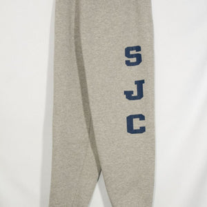 ST. JOSEPH OF CUPERTINO BANDED BOTTOM HEAVYWEIGHT SWEATPANT WITH SILKSCREENED LOGO