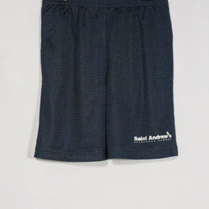 ST. ANDREW MINI MESH SHORTS WITH SILKSCREENED LOGO