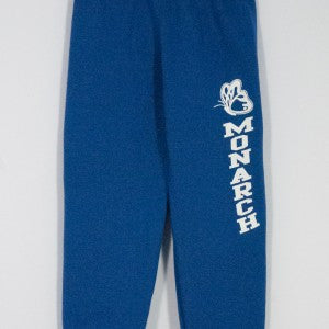 MONARCH CHRISTIAN SCHOOL HEAVYWEIGHT SWEATPANT WITH SILKSCREENED LOGO